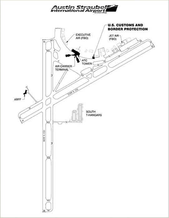 Austin Straubel International Airport | US Customs